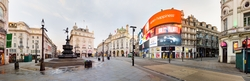 London, England by Piccadilly Circus in Legend