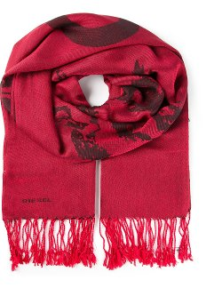 Printed Scarf by Diesel in If I Stay