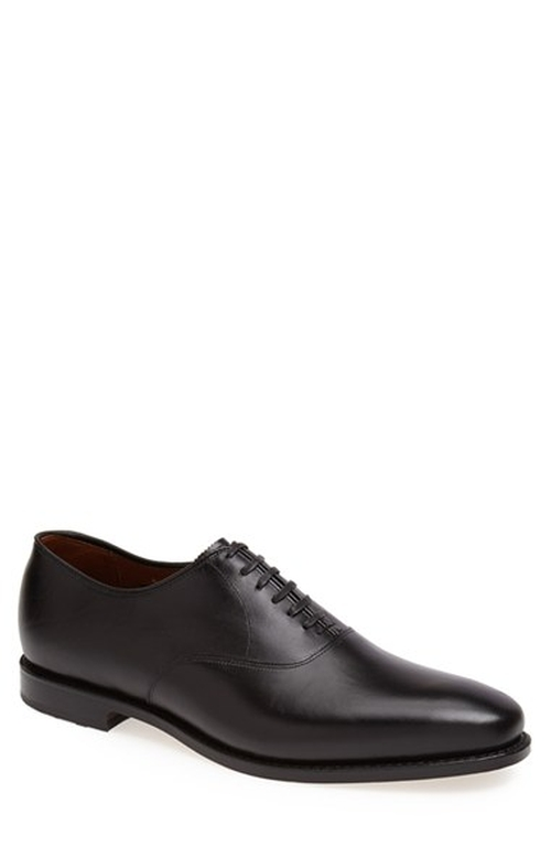 'Carlyle' Plain Toe Oxford Shoes by Allen Edmonds in Legend