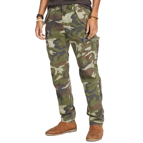 Camouflage Cargo Pants by Ralph Lauren in Me and Earl and the Dying Girl