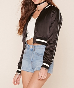 California Souvenir Jacket by Forever21 in Shadowhunters