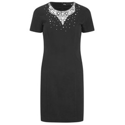 Beaded Short Sleeve Dress by Love Moschino in Brooklyn