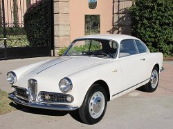 1961 Giulietta Coupe Car by Alfa Romeo in The Gunman