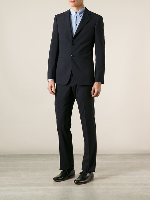 Two Piece Suit by Giorgio Armani in Ballers - Season 1 Episode 8