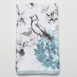 Printed Hand Towel by Birds & Blooms in A Walk in the Woods