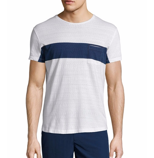 Chest-Stripe Short-Sleeve T-Shirt by Orlebar Brown in Empire - Season 3 Episode 1