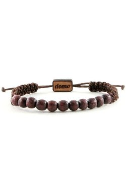 Wood Beaded Retractable Bracelet by Domo Beads in The Gunman