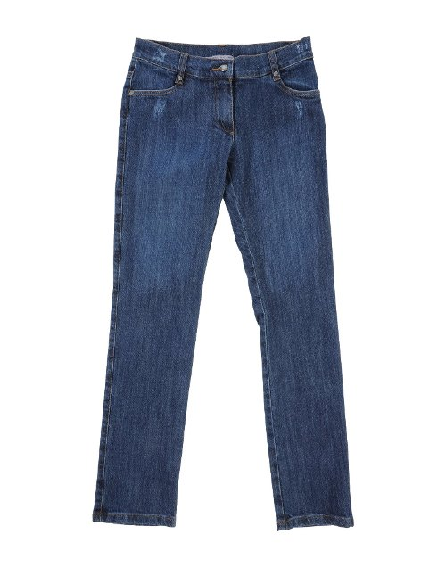 Straight Leg Denim Pants by Ermanno Scervino Junior in Wild