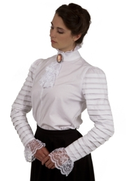 Blanche Edwardian Blouse by Recollections in Crimson Peak