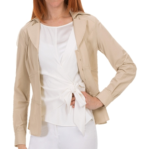 Long Sleeve Amara Blouse by Lafayette 148 New York in The Longest Ride