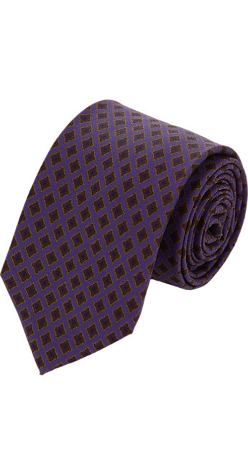Medallion Neck Tie by Barneys New York in Self/Less