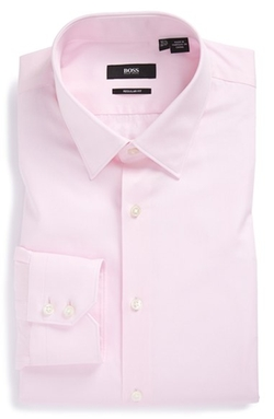 Gulio Us Regular Fit Dress Shirt by Boss in The Good Wife