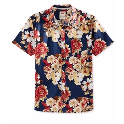 Floral-Print Short-Sleeve Shirt by Levi's in New Girl