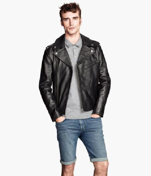 Leather Biker Jacket by H&M in Walk of Shame