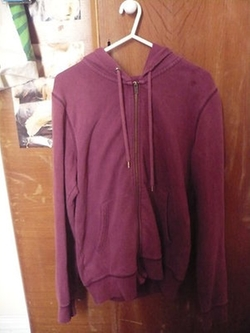 Zip Up Hoodie Jacket by Topshop in Harry Potter and the Deathly Hallows: Part 2