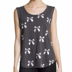 X-ray Bows Printed Muscle Tank Top by Chaser in Teen Wolf