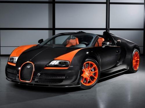 Veyron Grand Sport Vitesse by Bugatti in Transformers: Age of Extinction