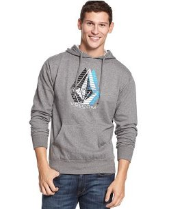 Minor Fleece Hoodie by Volcom in Neighbors