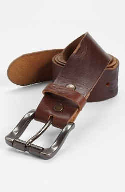 Vintage Leather Belt by Bill Adler 1981 in The Best of Me