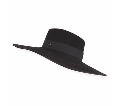 Fara Classic Felt Hat by Maison Michel in Hail, Caesar!