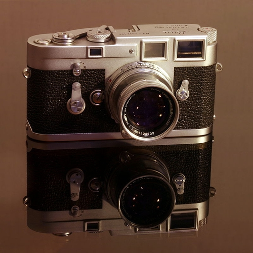 M3 Vintage Camera by Leica in Life
