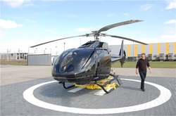 EC130 B4 Helicopter by Eurocopter in Fifty Shades of Grey
