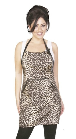 Unisex Apron Chemical Proof Animal Print by Ladybird Line in Sisters