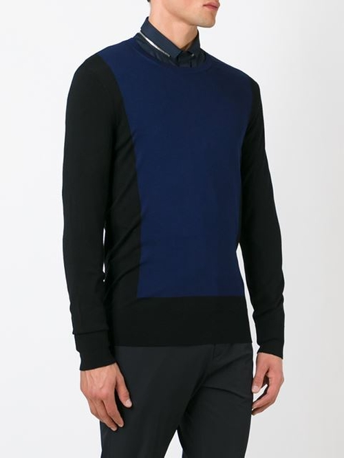 Colour Block Sweater by Neil Barrett in Nashville - Season 4 Episode 10