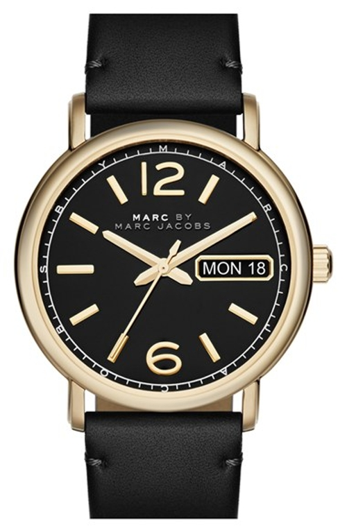 'Fergus' Leather Strap Watch by Marc by Marc Jacobs in The Second Best Exotic Marigold Hotel