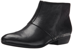 Women's Ezout Leather Boot by Nine West in Quantico