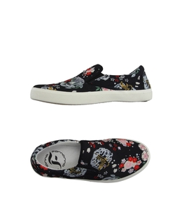 Floral Low Top Sneakers by Fornarina Sportglam in She's The Man