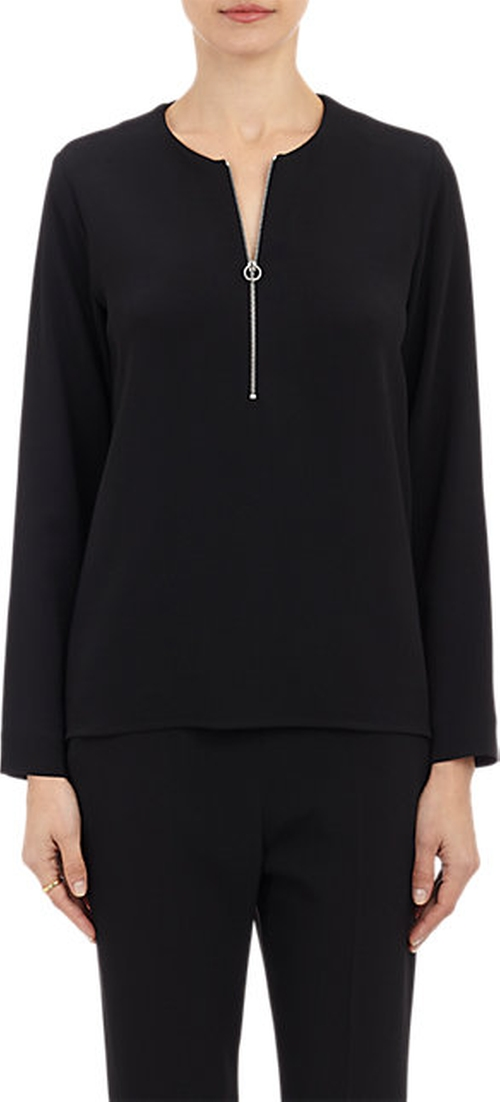 Zip-Front Blouse by Stella McCartney in Keeping Up With The Kardashians - Season 11 Episode 1