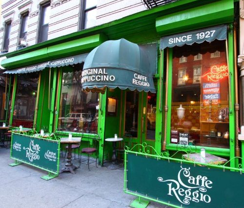 Caffe Reggio New York City, New York in Top Five