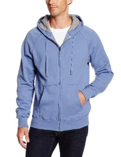 Men's Nano Fleece Full Zip Hood by Hanes in Ride Along