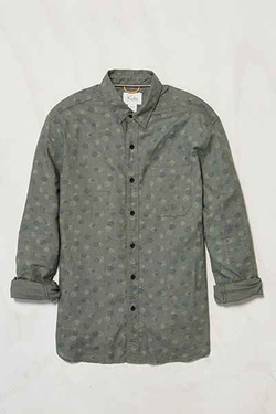Exploding Dots Linen Button-Down Shirt by Koto in The Good Wife