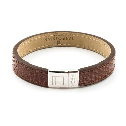 Italian Leather Bracelet by Tateossian in Drive