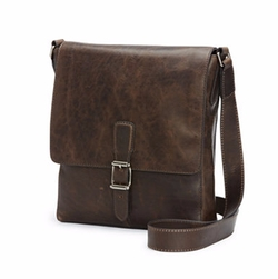 Logan Small Leather Messenger Bag by Frye in The Magicians