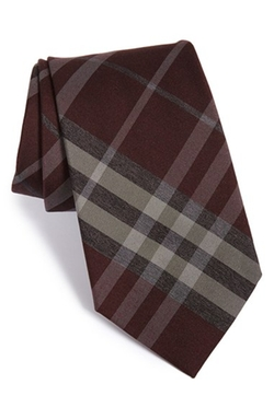Clinton Woven Silk & Wool Tie by Burberry London in How To Get Away With Murder