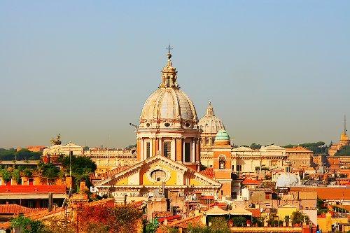 San Carlo al Corso Rome, Italy in The Man from U.N.C.L.E.