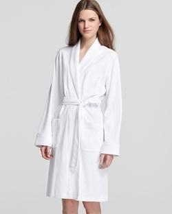 Short Shawl Collar Robe by Ralph Lauren in GoldenEye