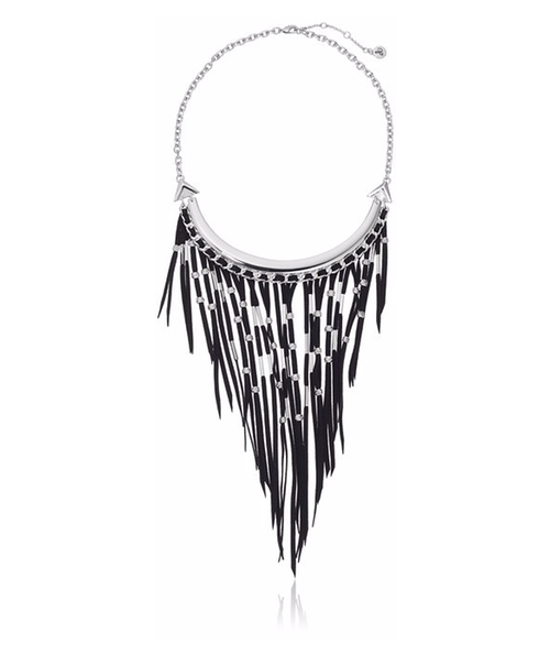 Fringe Frontal Necklace by Sam Edelman in The Divergent Series: Allegiant