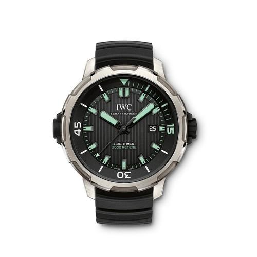 Aquatimer 2000 Automatic Titanium Watch by IWC in Mechanic: Resurrection