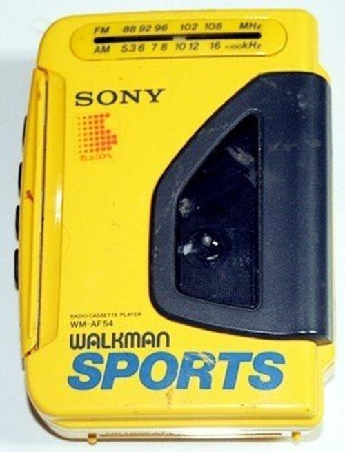 Radio Cassette Player Walkman Sports WM-AF54 by Sony in Hot Tub Time Machine 2