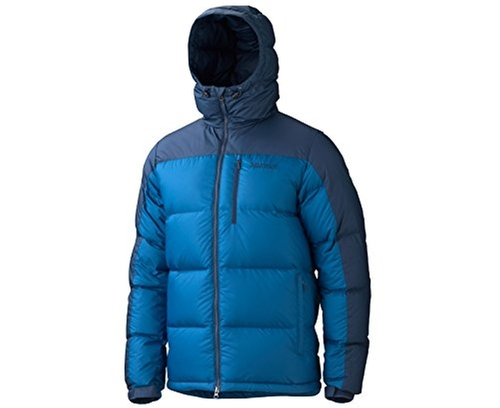 Men's Guides Down Hooded Jacket by Marmot in Everest