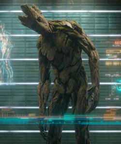 Groot by Charlie Wen (Concept Artist) in Guardians of the Galaxy