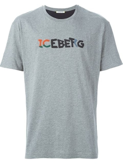 Logo Print T-Shirt by Iceberg in The Martian