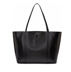 Black Tie Tote Bag by Kara in Guilt