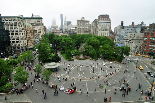 Union Square Park New York City, New York in That Awkward Moment