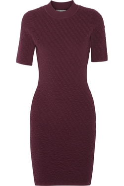 Textured Stretch Knit Dress by Opening Ceremony in Scandal