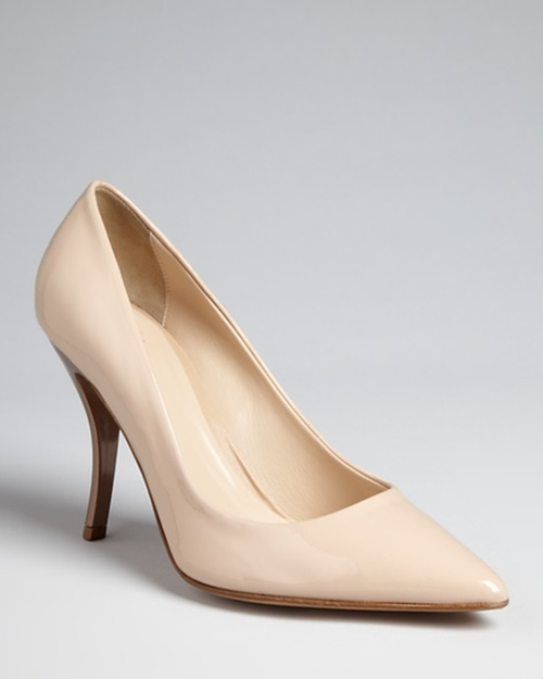 Pointed Toe Pumps by Delman in That Awkward Moment